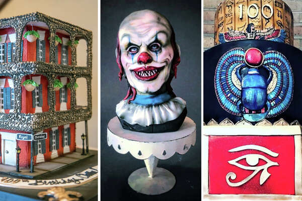 Cake artist Sarah Ono Jones of Houston's Common Bond shares her creations.