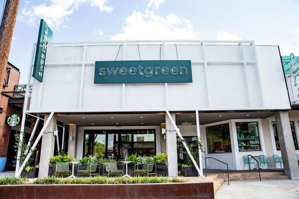 Exterior of Sweetgreen, a new fast-casual salad bowl concept opening July 2551 Amherst in Rice Village. Sweetgreen also plans to open a second restaurant in Montrose in August.