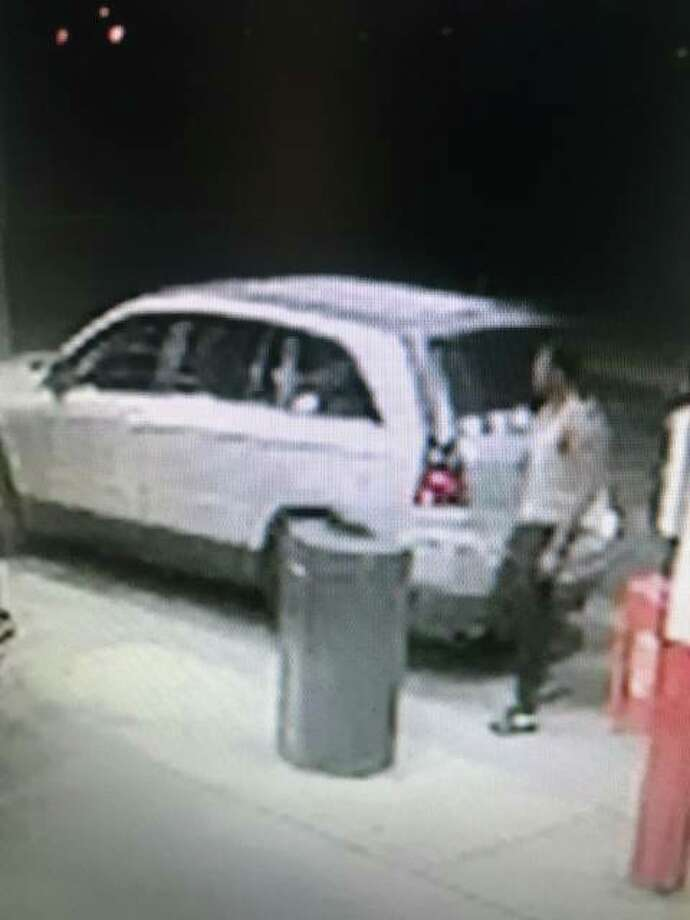 Wood River Police have released this photo from surveillance video of a man sought in connection to a Sunday night attempted theft of a vehicle, with a 4-year-old in the vehicle. The child was unhurt and the vehicle was recovered.