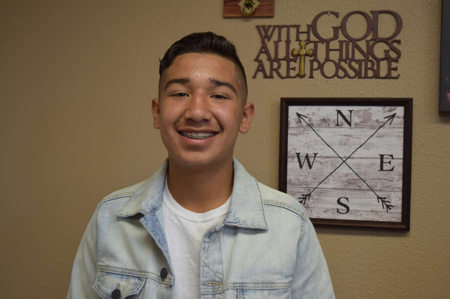 Pablo Morales was chosen to serve on this year's Young Hearts Matter Leadership Board. Photo: Ellysa Harris/Plainview Herald