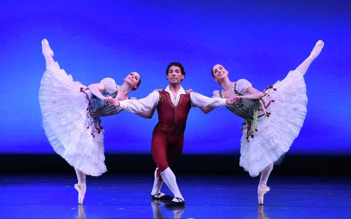 """Connecticut Ballet performs """"La Ventana Pas de Trois."""""""