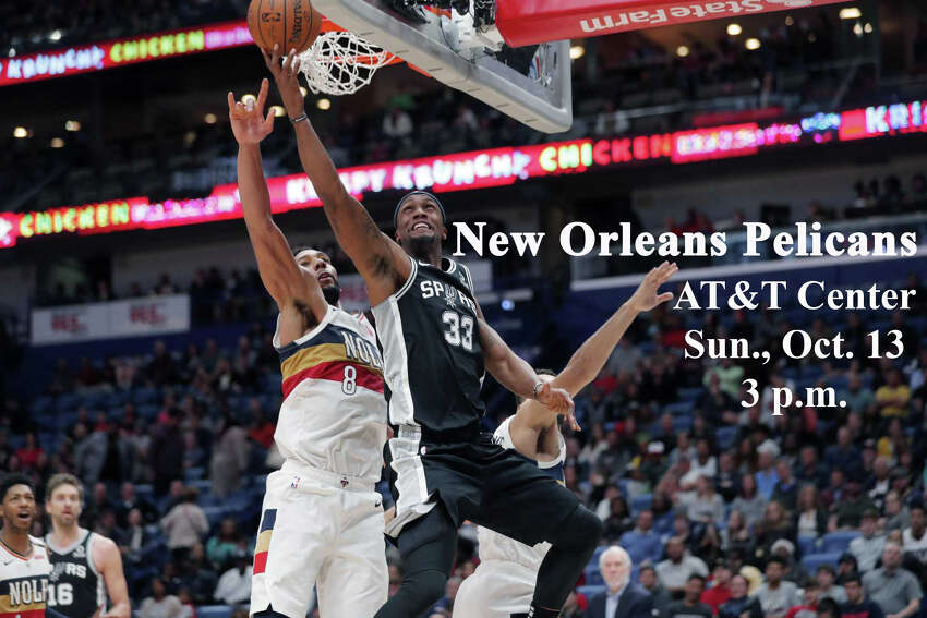 The San Antonio Spurs are scheduled to play five preseason games, including three home matchups, ahead of the 2019-20 season.