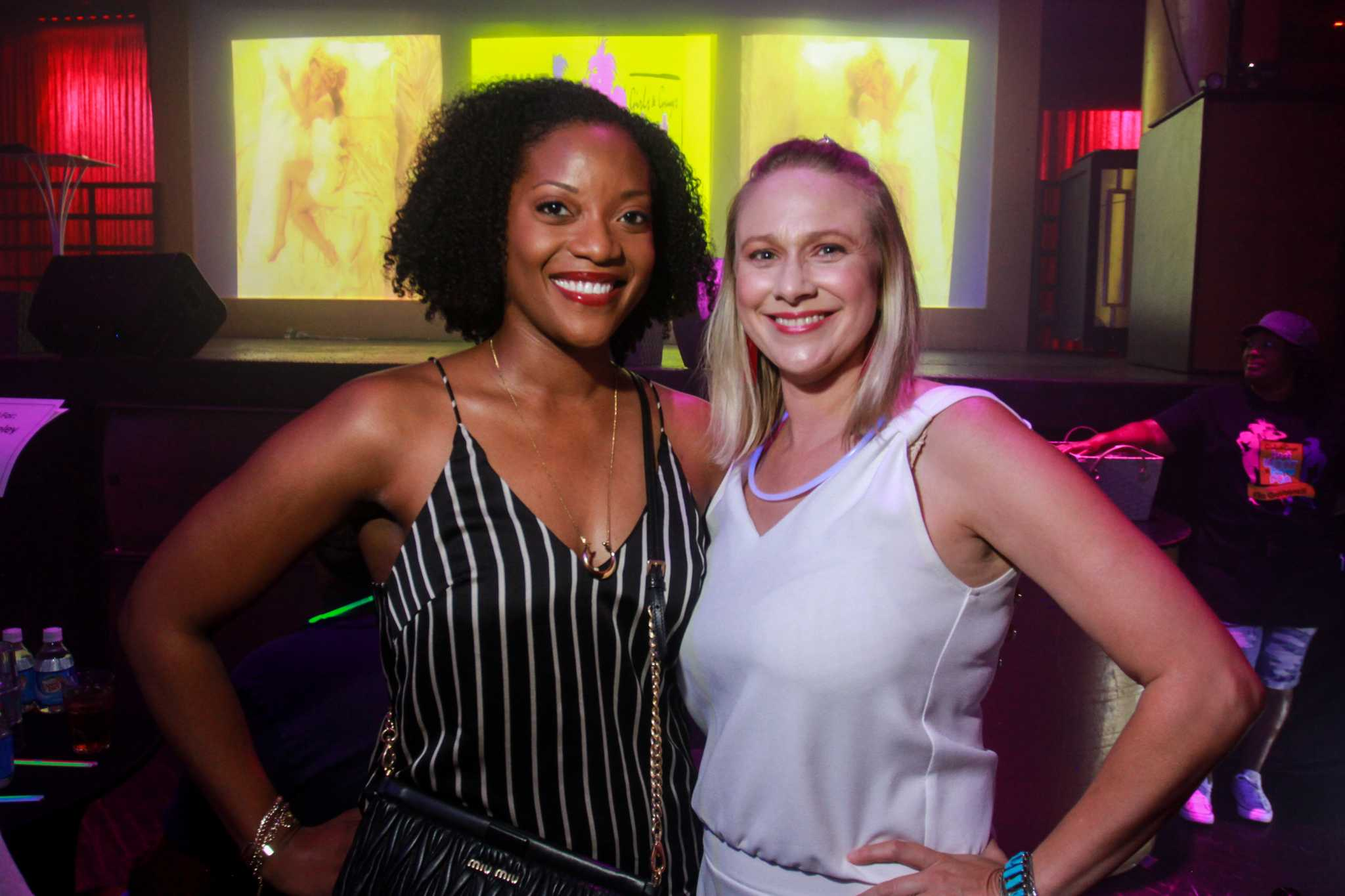 'Spice Girlz' and an Ariana Grande impersonator steal Mint Julep's '80s-themed drag show in Midtown