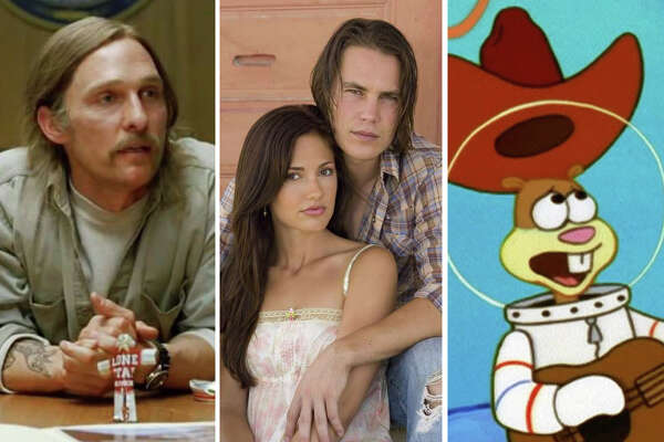 >> Click through the following gallery to see 32 memorable TV and movie characters with Texas ties.