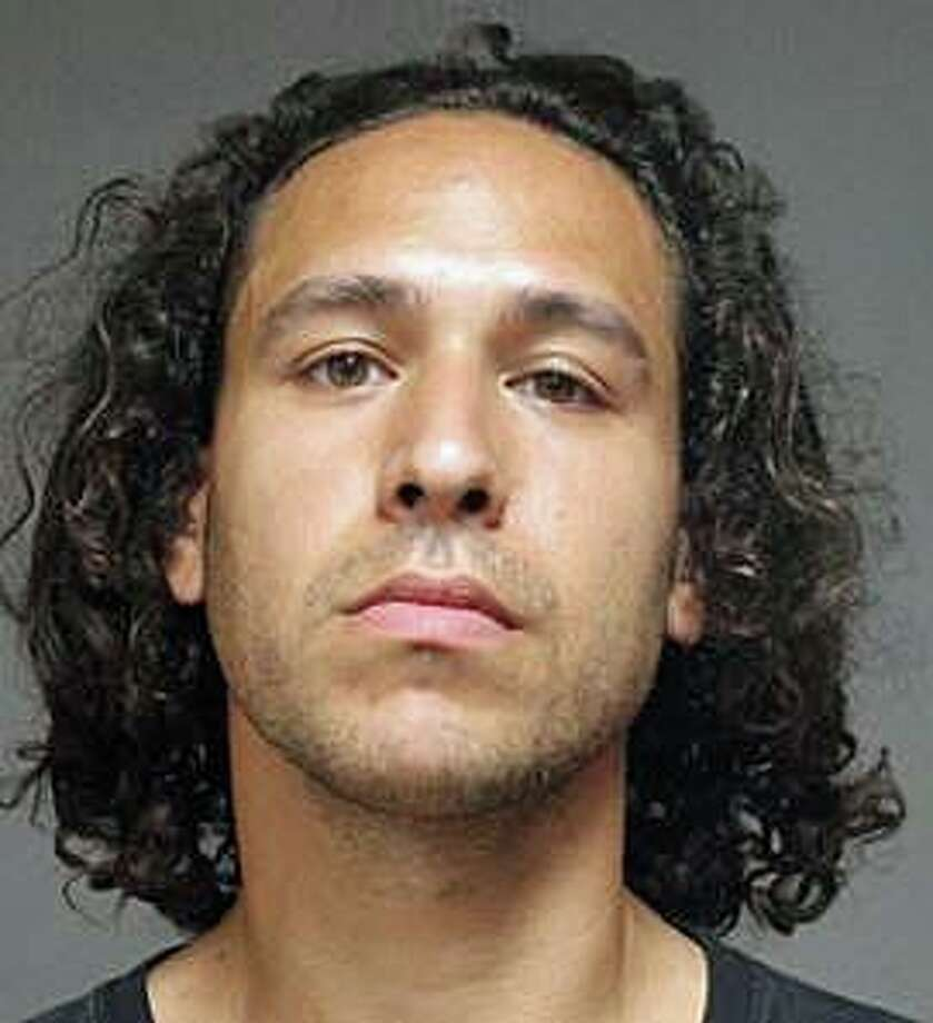 Mark Fabrizi, 28, of Stratford was arrested by Fairfield police on Sunday, July 21, 2019 on charges of possession of a controlled substance, operation of a motor vehicle with a suspended license and failure to insure a motor vehicle. Police said he was stopped because the vehicle he was driving was suspected of an earlier hit and run accident. Photo: Fairfield Police Department Photo