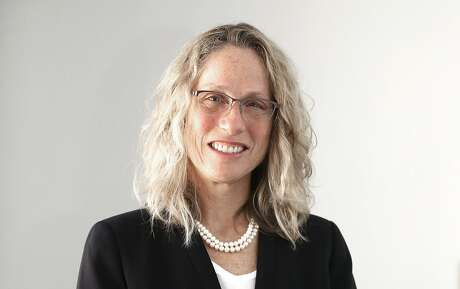 Director Kate Hartley of the Mayor's Office of Housing talks about Prop D at the Chronicle on Thursday, April 19, 2018, in San Francisco, Calif.