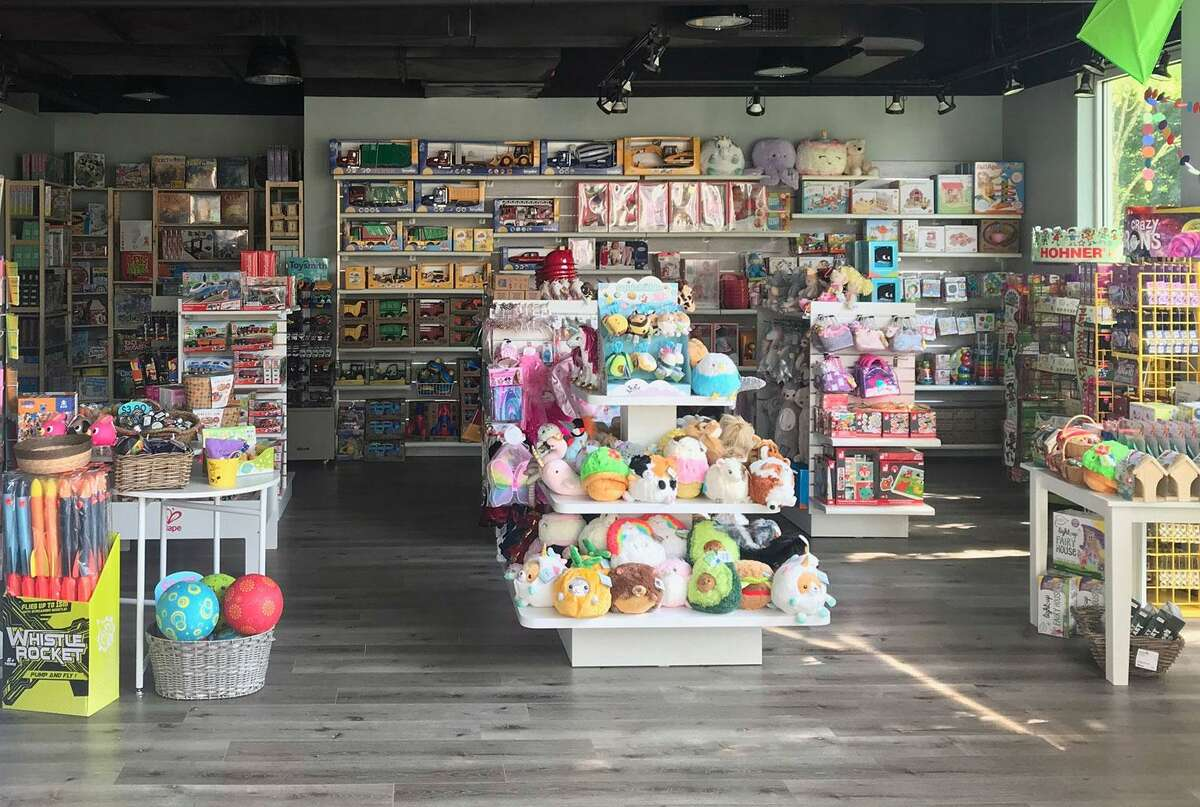 A new store in Wilton, Town Center Toys, is stocked and ready to go.