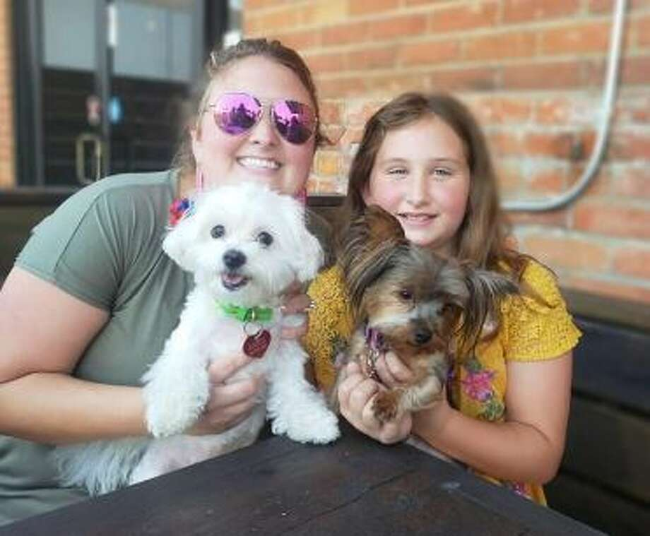 This summer, downtown's newest restaurant and music venue, the Pacific Yard House at 101 Metcalf Street, launched its doggie menu to serve its new pet pals only a few miles from Lake Conroe. Photo: Submitted Photo