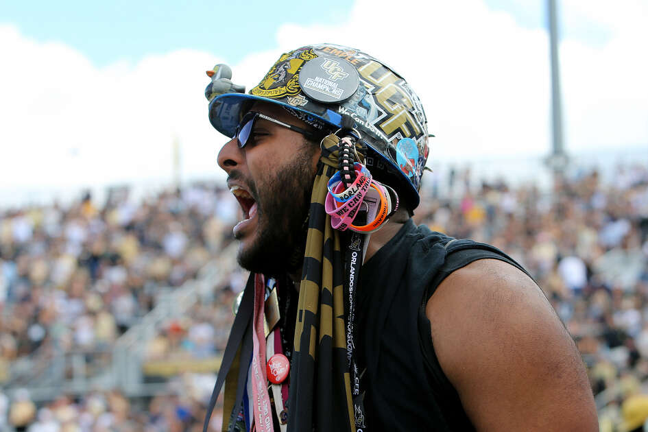 Screaming fans like this one give Central Florida one of the top home-field advantages in the American Athletic Conference.