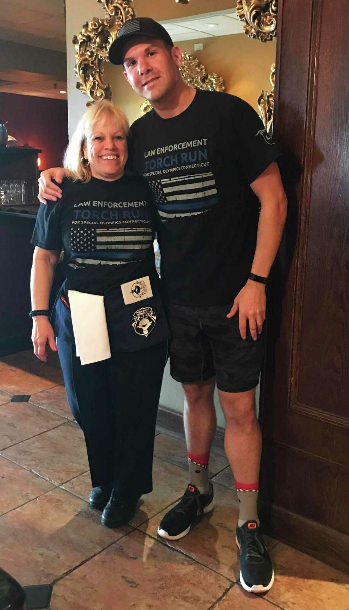 The annual Tip a Cop fundraiser will benefit the Special Olympics of Connecticut at Amici Italian Grill on Main Street in Middletown Thursday from noon to 8 p.m.
