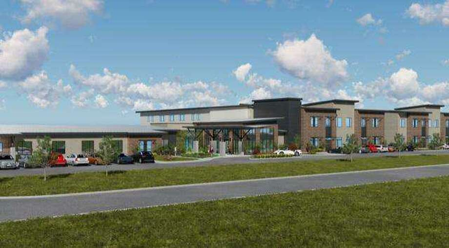 Sodalis Senior Living will stage a ground-breaking ceremony for a 94-bed facility at East Boulevard and X Street in Deer Park. Photo: Courtesy Sodalis