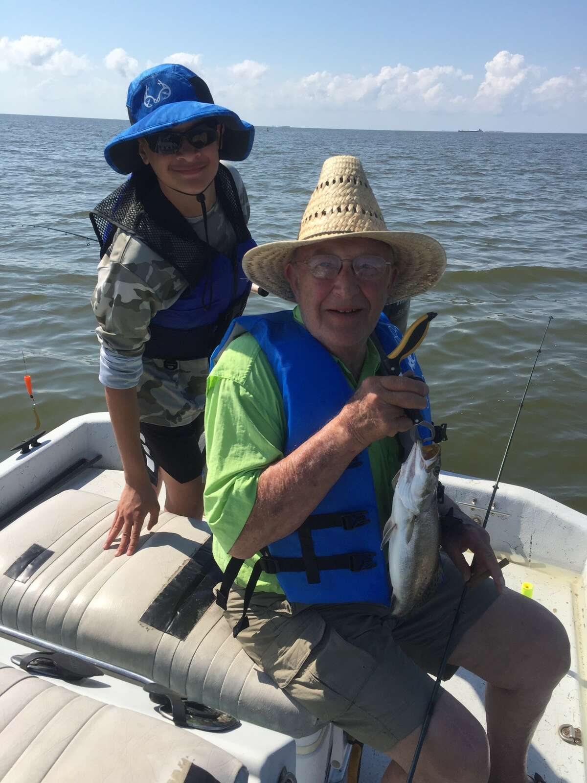 Jerry Sebek, a 78-year-old man from San Marcos, died last month after he contracted a flesh-eating disease while fishing near Palacios, family members said.