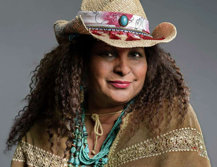 This May 21, 2019 photo shows actress Pam Grier posing in New York to promote her ABC sitcom a€œBless This Mess.a€  (Photo by Christopher Smith/Invision/AP) Photo: Christopher Smith / 2019 Invision
