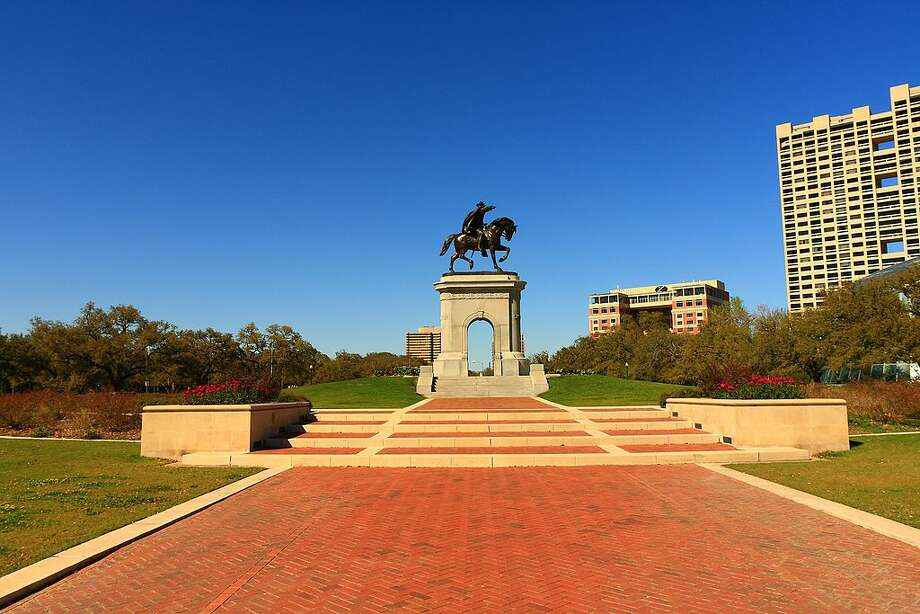 Hermann Park – Take in the sights, ride the train and visit the multiple bridges inside this 445-acre