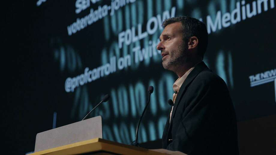 The starting point is David Carroll (pictured), an American professor of media design who decides, as a form of activism in the wake of the revelations about the improper use of Facebook user data to manipulate the the 2016 presidential election, that he will request his personal data from Cambridge Analytica. (Netflix/TNS) Photo: Netflix, HO / TNS / Netflix