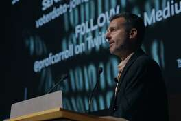 The starting point is David Carroll (pictured), an American professor of media design who decides, as a form of activism in the wake of the revelations about the improper use of Facebook user data to manipulate the the 2016 presidential election, that he will request his personal data from Cambridge Analytica. (Netflix/TNS)