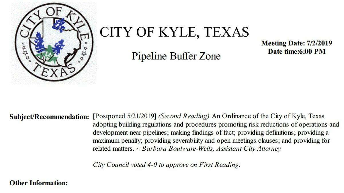 Houston pipeline operator Kinder Morgan has sued an Austin suburb over the passage of an ordinance, which the company alleges aims to keep a proposed natural gas pipeline project out of town.