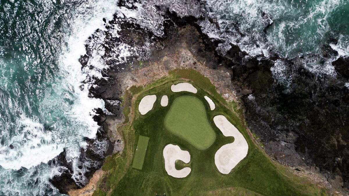 Hole 7 at Pebble Beach Golf Links on Wednesday, May 22, 2019, in Pebble Beach, Calif. The course is the site of the 2019 U.S. Open Championship.