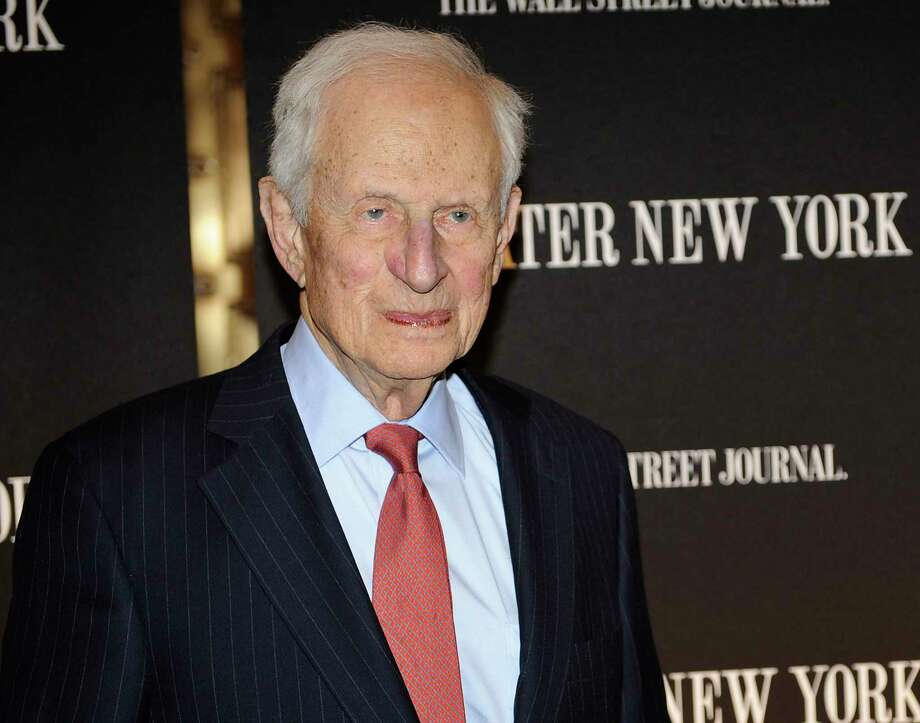 FILE - In this April 26, 2010 file photo, former New York City District Attorney Robert Morgenthau attends a gala launch party in New York. Morgenthau, the longest-serving former Manhattan district attorney who tried mob kingpins, music stars and white-collar criminals and inspired a character on 'Law & Order' has died. He was 99. His wife, Lucinda Franks, told The New York Times that Morgenthau died Sunday, July 21, 2019, at a Manhattan hospital after a short illness.  (AP Photo/Stephen Chernin, File) Photo: Stephen Chernin / FR76594 AP
