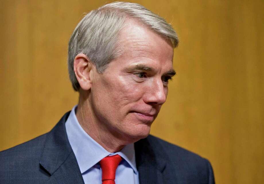 "U.S. Sen. Rob Portman, R-Ohio, says the U.S.-Mexico-Canada trade agreement will get done because ""logic"" will prevail. Photo: J. Scott Applewhite /Associated Press / AP"