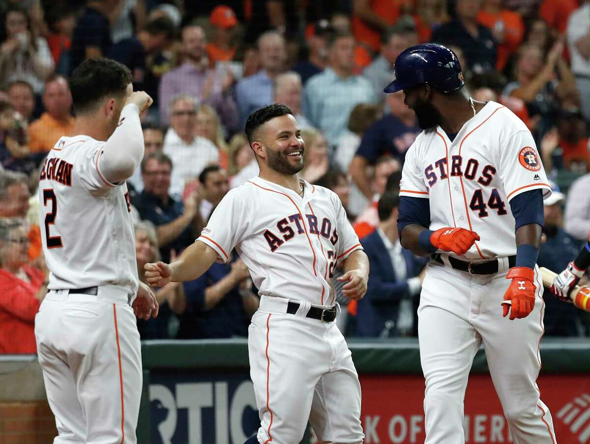 The Astros will be without Alex Bregman, Jose Altuve and Yordan Alvarez for a while due to Major League Baseball's health and safety protocols.