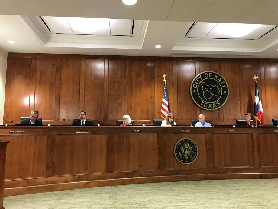 The Katy City Council is scheduled to hold a remote meeting via Zoom on Monday, July 6. Photo: Michelle Iracheta