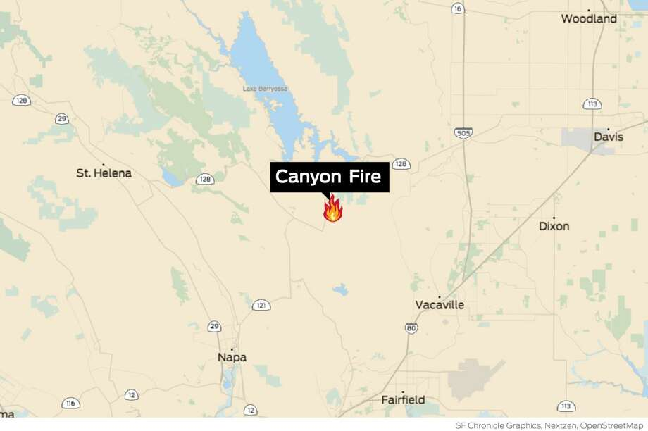 Napa County's Canyon Fire reaches 90% containment