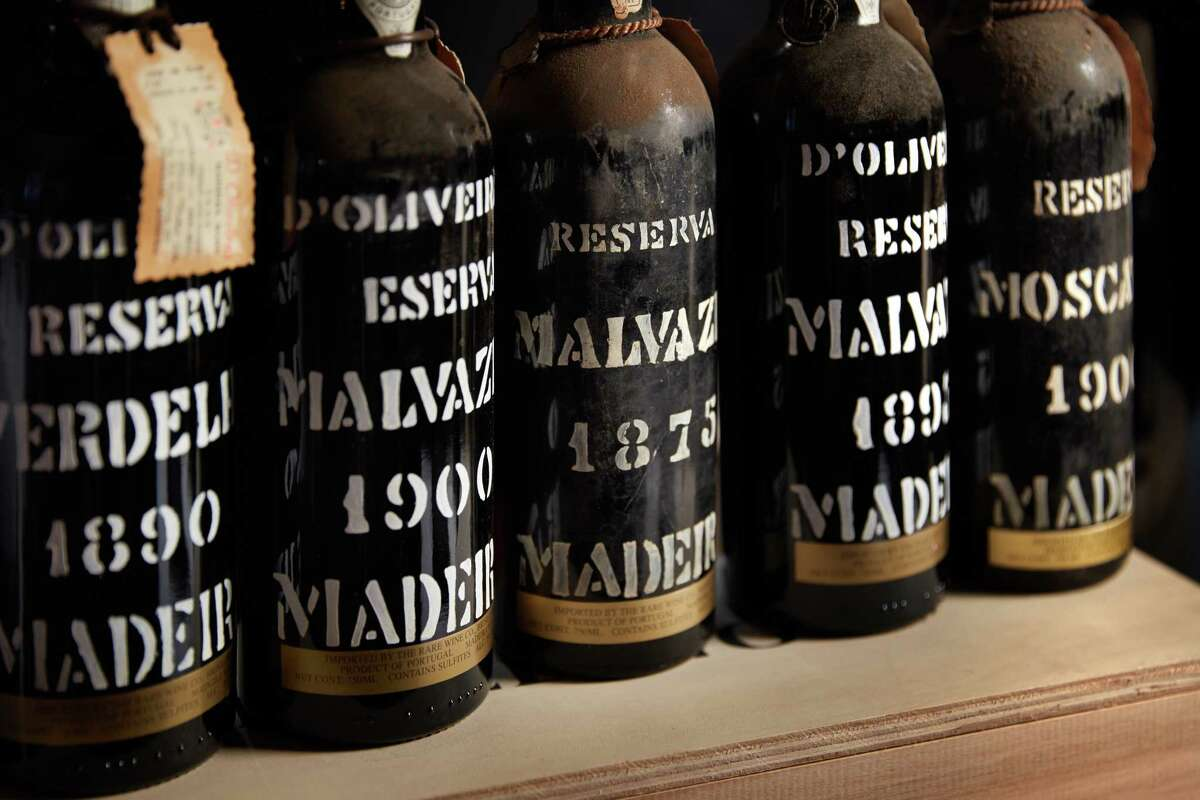 The Cellar at The Post Oak contains bottles from the 1800s.