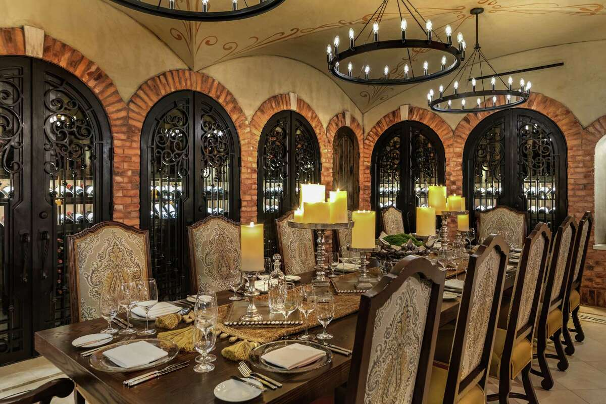 Mastro's Steakhouse at The Post Oak has been awarded the Grand Award designation by Wine Spectator. The restaurant's cellar contains some 30,000 bottles of wine worth an estimated $3.7 million from 25 countries with vintages dating back to the 1800s. Shown: The Cellar at The Post Oak.
