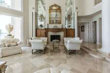 This property was designed by and for renowned romance novelist Judith McNaught. At $5.3 million, it's the priciest listing in League City.