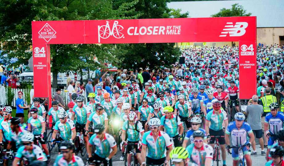 Participants in the 2018 Pan-Mass Challenge Photo: Contributed Photo