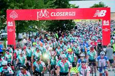 Participants in the 2018 Pan-Mass Challenge