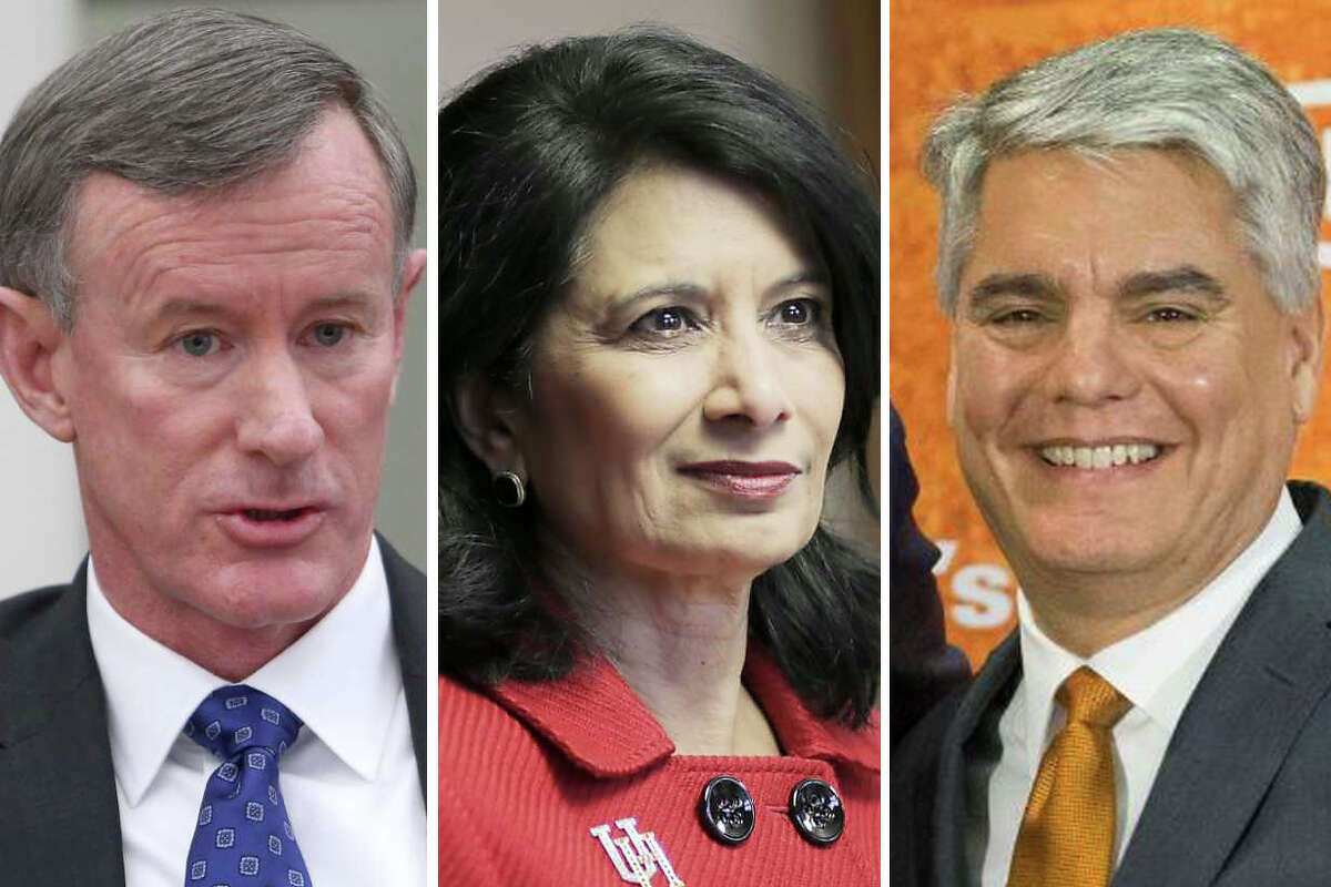 >>> Click through the following gallery to see how much Texas' top public college executives made in 2018,according to data from the Chronicle of Higher Education.