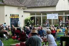 The concerts will take place on the patio of the Fairfield Museum.