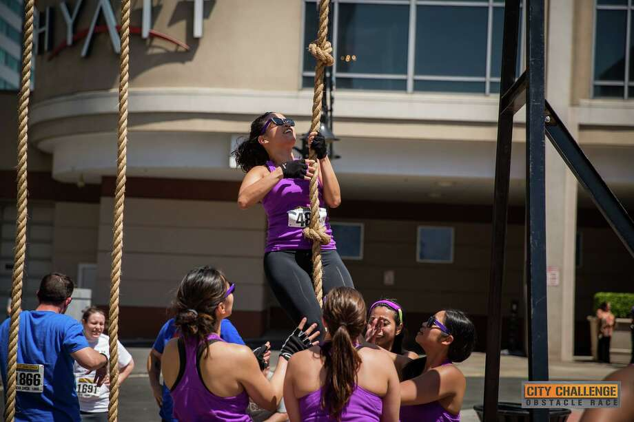 Spots are still available for the City Challenge Obstacle Race on Sunday, July 23, in downtown Stamford. Photo: Roman Lukiw / Contributed Photo / RL Photography