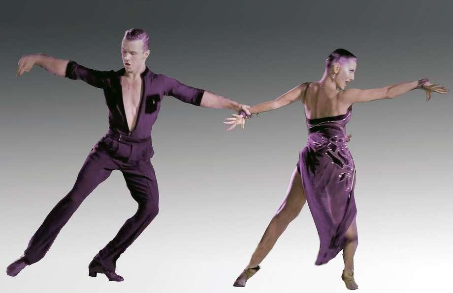 Professional Latin ballroom dancers Aleksei Shipilov and Julia Mitina will perform in Bridgeport on July 27. Photo: Bob Beslove / Contributed Photo