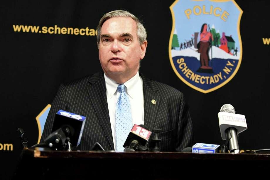Schenectady Mayor Gary R. McCarthy. (Catherine Rafferty/Times Union) Photo: Catherine Rafferty, Albany Times Union / 40047514A