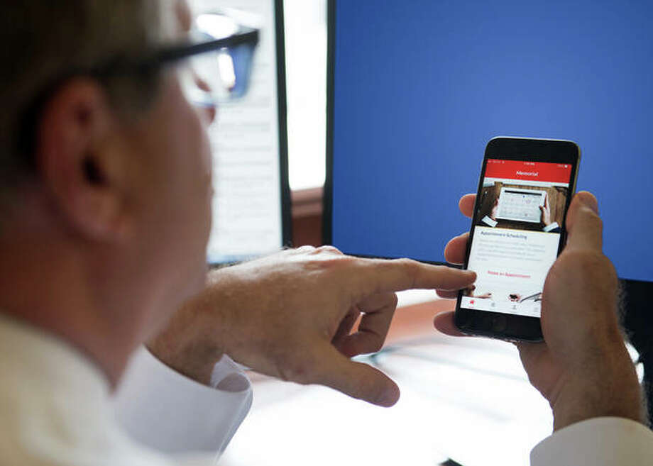 Memorial is offering an app that can book appointments in five locations. Photo: Photo Provided