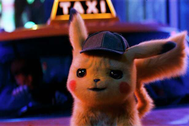 Pikachu is voiced by Ryan Reynolds.