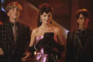 "Anthony Michael Hall (from left), Kelly LeBrock and Ilan Mitchell-Smith star in ""Weird Science,"" which will be part of EVO Entertainment's Summer Drive-in Festival."
