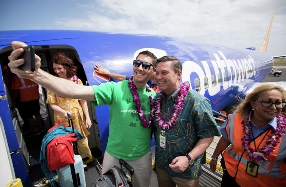 Southwest's new Hawaii service pushed up visitor numbers to the islands --  but not hotel prices. Photo: Sourthwest