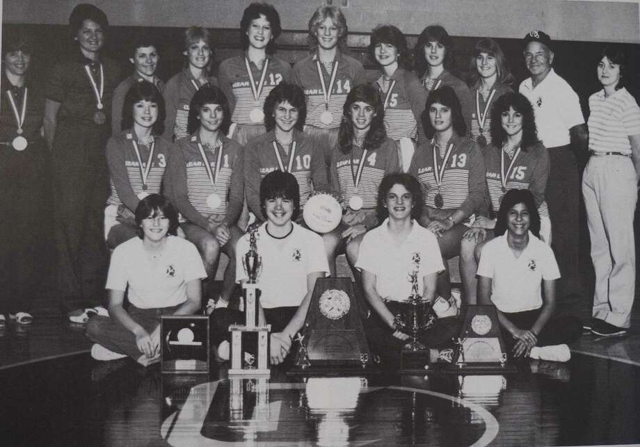 The 1983 Clear Lake High School volleyball Class 5A state championship team will be inducted into the Clear Creek ISD Hall of Honor on Oct. 26. Photo: Submitted Photo