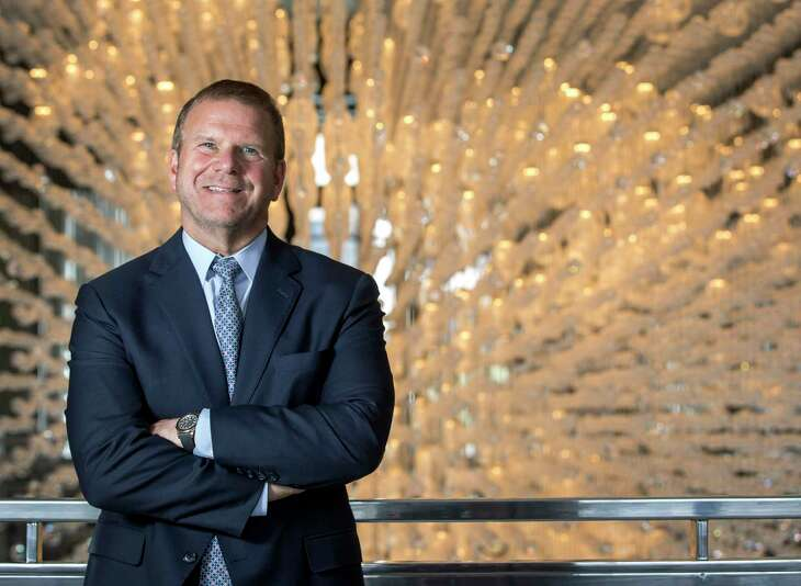 Tilman Fertitta, owner of Landry's, Inc., and the Houston Rockets, poses for a portrait at the Post Oak Hotel at Uptown on Tuesday, May 28, 2019, in Houston.