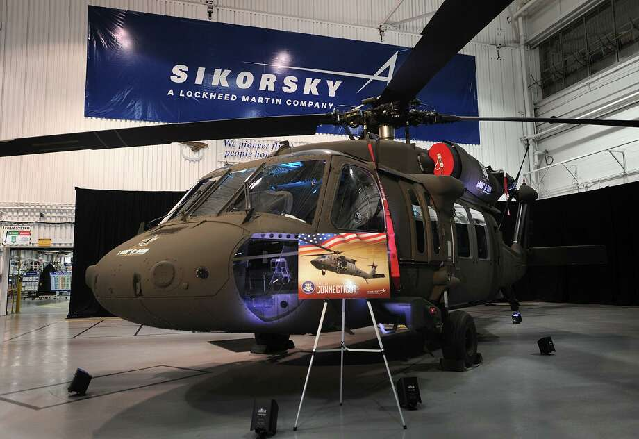 The one thousandth H-60M Black Hawk helicopter at the delivery ceremony at the Sikorsky plant in Stratford, Conn. on Thursday, October 13, 2016. Photo: Brian A. Pounds / Hearst Connecticut Media / Connecticut Post
