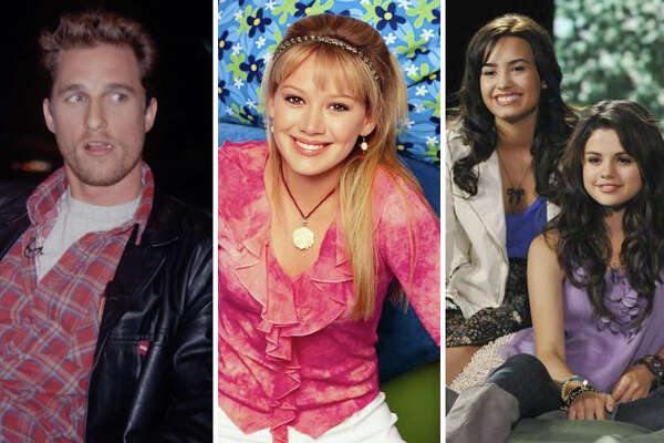 Matthew McConaughey, Hillary Duff, Demi Lovato and Selena Gomez are pictured.