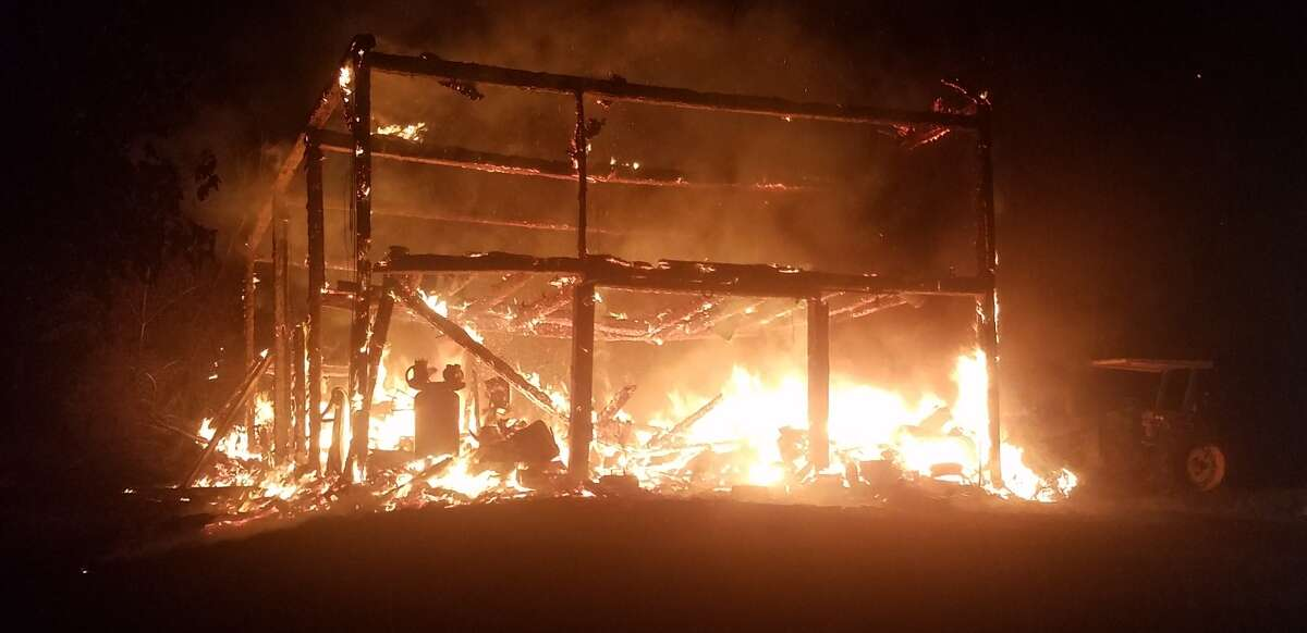 A Columbia County man is accused of setting an Ancram, N.Y., barn on fire and burning it to the ground in the early morning hours of Tuesday, July 23, 2019.