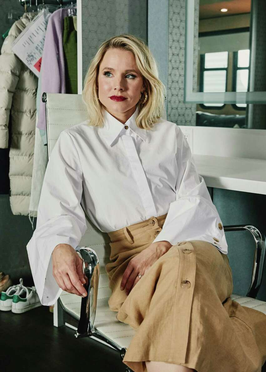Kristen Bell, the star of the cult crime drama a€œVeronica Mars,a€ in Los Angeles, June 20, 2019. The beloved show, once a teen noir, returns with an eight-episode season a decade after cancellation. a€œAs long as people want to watch it, I will do it,a€ Bell said. (Adam Amengual/The New York Times)