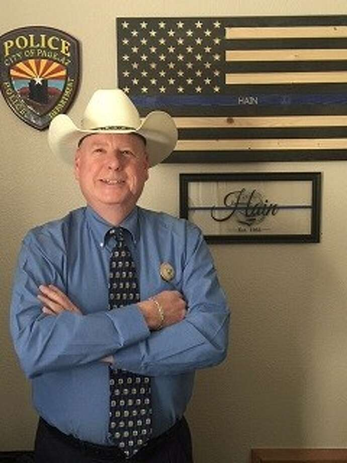 Tom Hain, chief of Police for the University of Texas at the Permian Basin, announced his candidacy for the Republican nomination for Midland County sheriff. Photo: Courtesy Photo