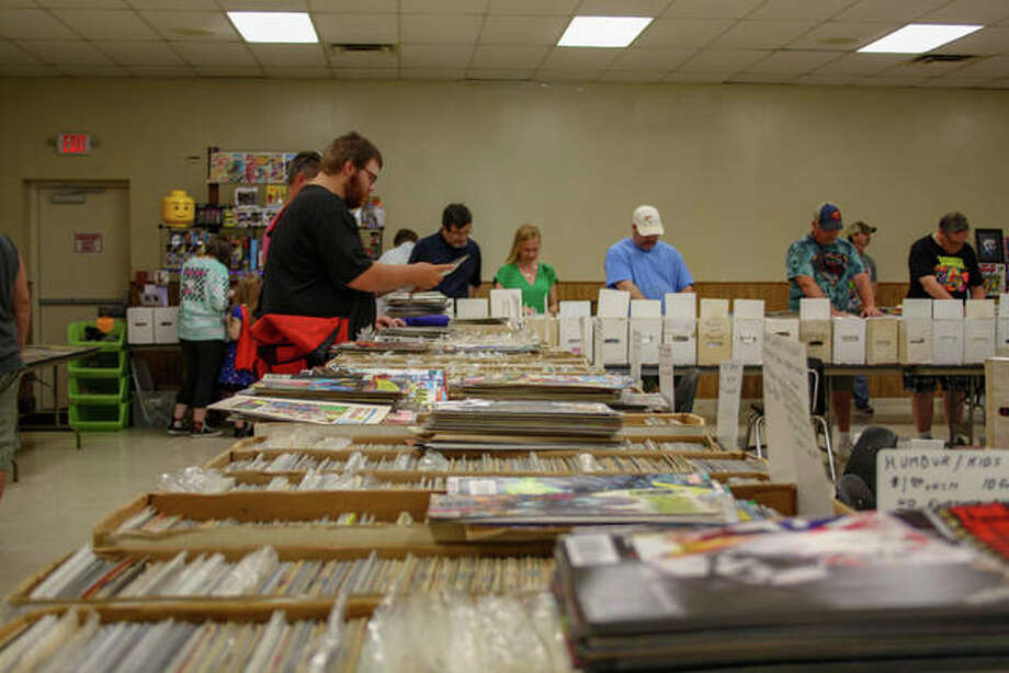 The Metro East Comic Book Convention took place on Sunday in Collinsville. Photo: Andrew Malo | For Hearst Illinois