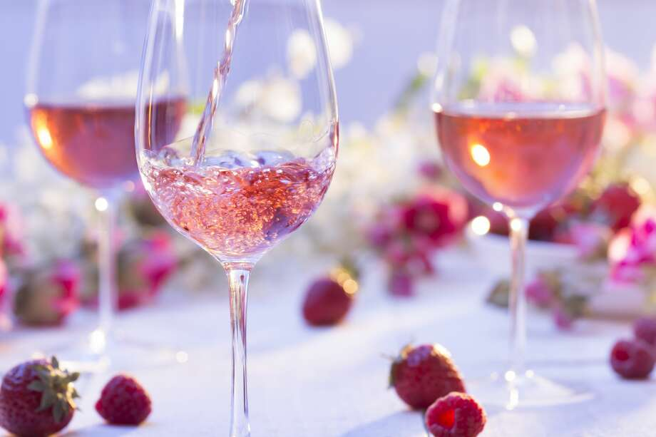 A rosé garden will pop up in, yes, San Francisco's Marina